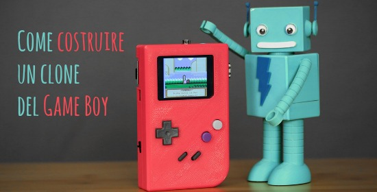 Come costruire un clone del game boy
