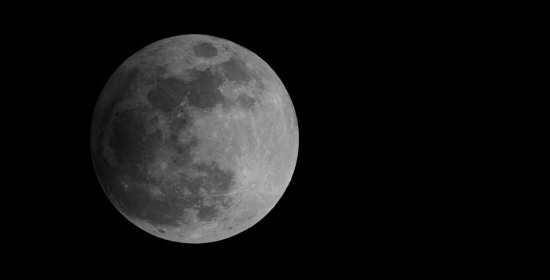 Moon penumbral eclipse